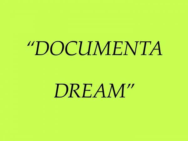 Documenta Dream Titles 210611_1